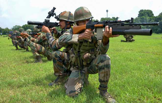 Tri-services special forces' div gets going