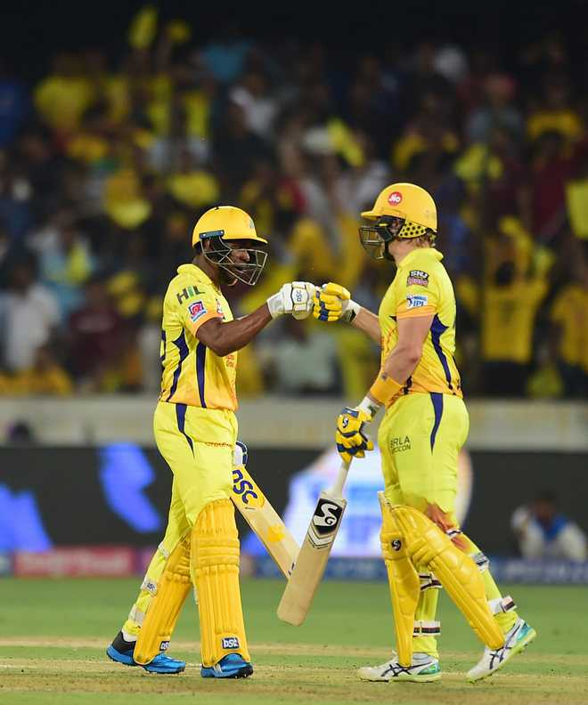 Watson batted with bleeding knee in IPL final