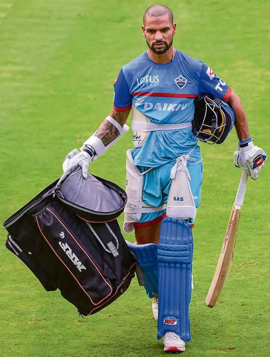 No place for negativity in my life, says Dhawan