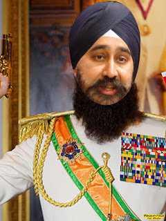 Photoshopped image shows Sikh mayor as Arab dictator
