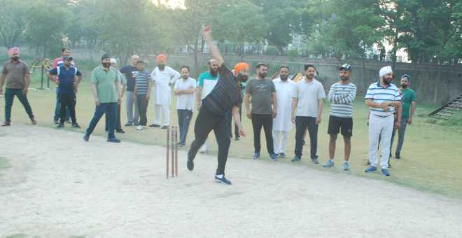 From playing cricket to dousing field fires — leaders doing it all