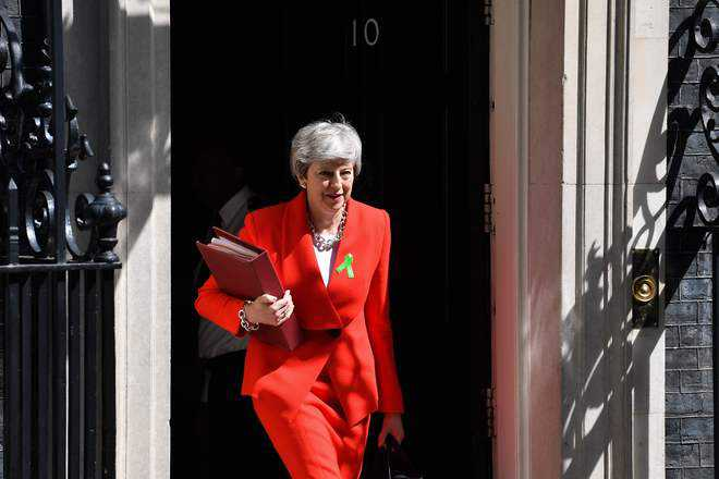 May to bring rejected Brexit deal back for parliament vote in June
