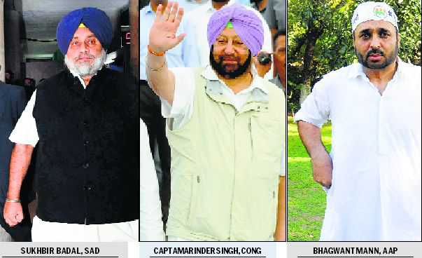 Choose between anarchy, stability: Capt Amarinder