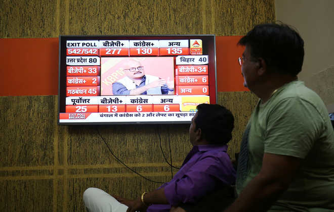 From doubt to complete faith, opinion divided on exit polls