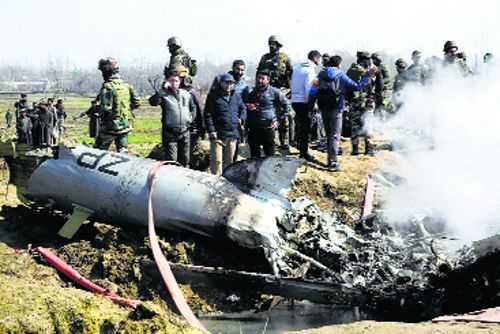 Copter crash 'self-hit', IAF commander out