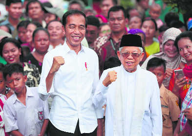 Indonesian Prez Widodo re-elected, rival cries foul