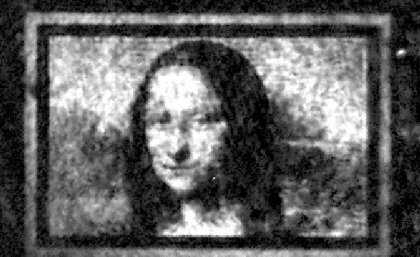 Scientists 'paint' microscopic Mona Lisa on quantum canvas