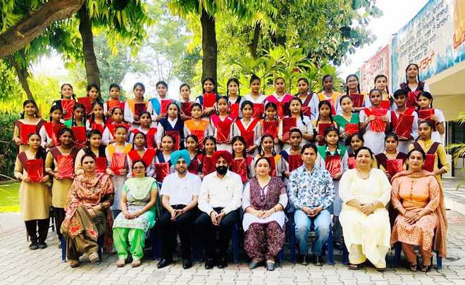 Scholarships galore at government girls school