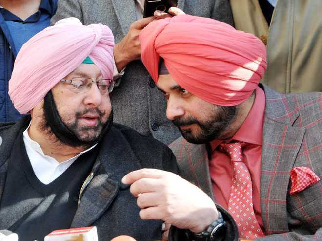 Amarinder fires salvo at Sidhu; says he is unable to run his own department