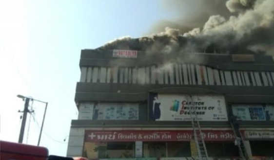 15 students killed in Gujarat coaching centre fire; many jump off building to escape