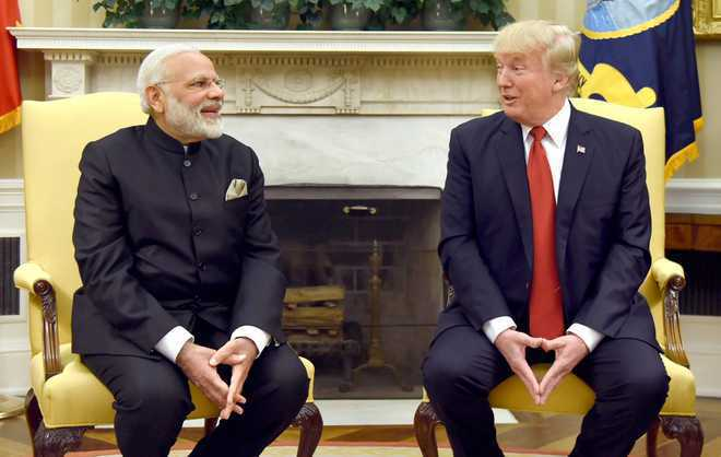 Trump telephones Modi to congratulate him, both agree to meet at G-20 Summit: WH