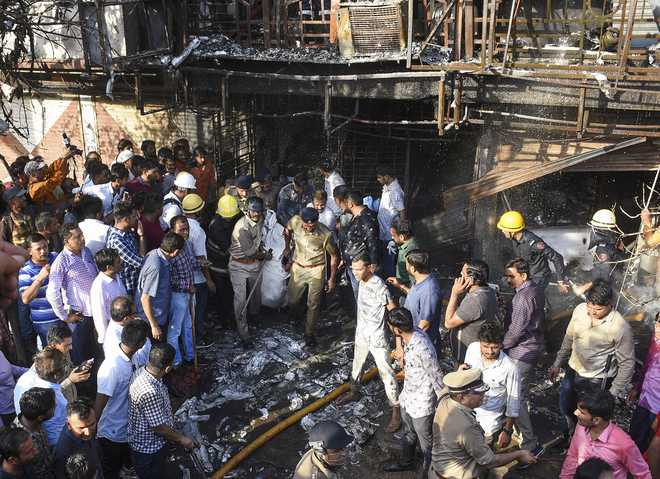 Surat tragedy: Fire toll rises to 23; two students on ventilator