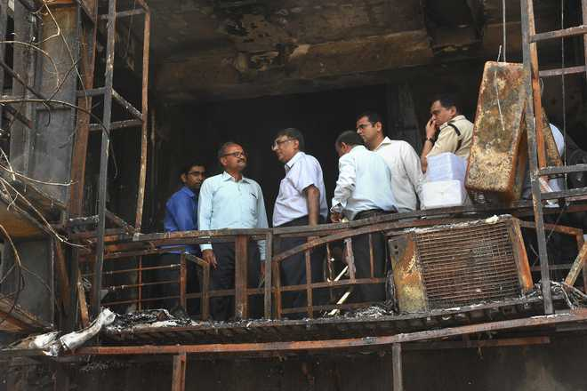 3 of 20 students dead in Surat fire clear Class 12 Board exams