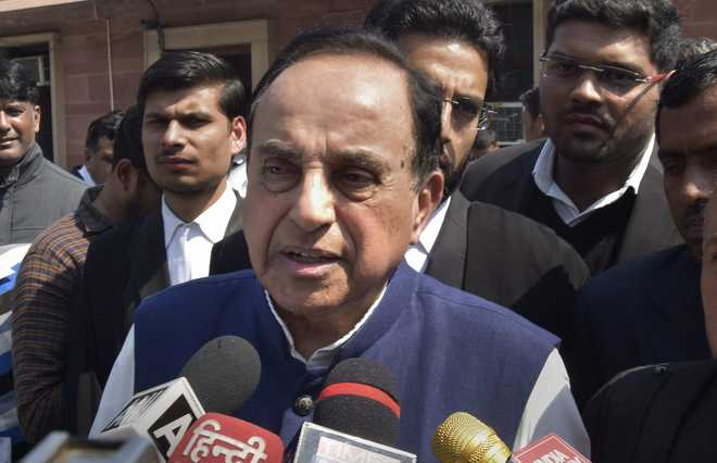 Spin and statistics manipulation, says Swamy about GDP growth under NDA
