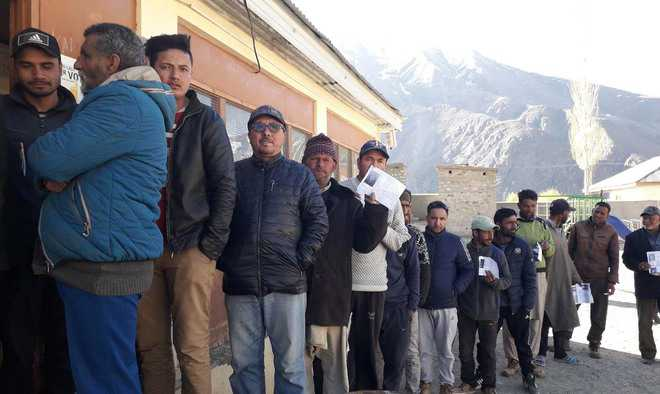 BJP emerges strongest force in Ladakh