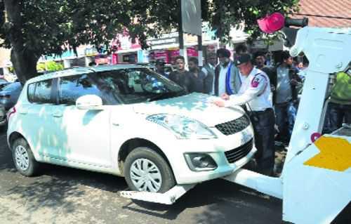 Sharp rise in traffic challans