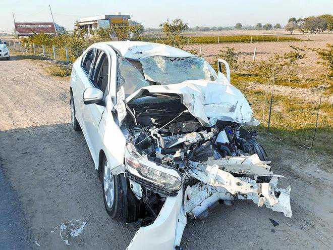 3 of family die in Hisar road accident