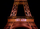 The Eiffel tower is illuminated during a light show to celebrate its 130th anniversary in Paris, France, May, 15, 2019. — Reuters