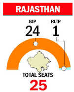 BJP holds fort with 25/25