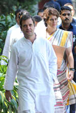 Unease in Congress after Rahul, Priyanka's hard talk at CWC meet