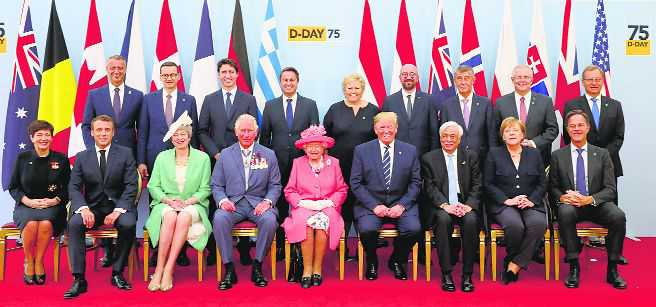 World leaders remember 1944 D-Day invasion