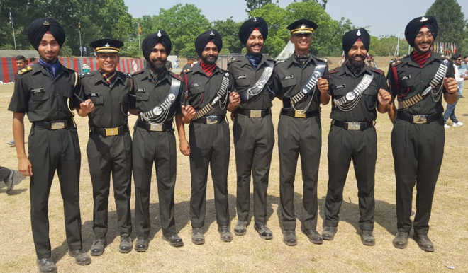 15 from Mohali institute pass out as Army officers