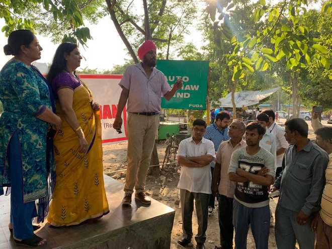 Awareness camp for auto drivers
