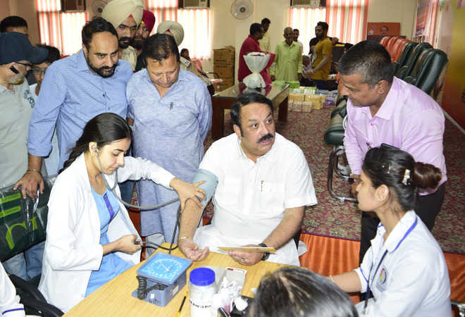 BJP holds medical camp