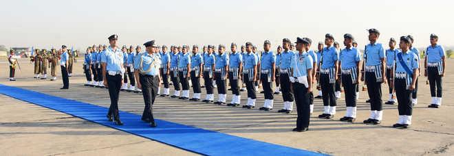 Air Marshal Nambiar visits Ambala IAF station