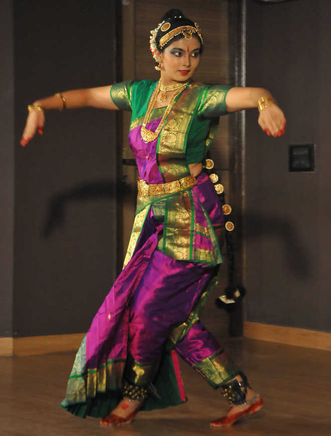 Kuchipudi dancer weaves magic