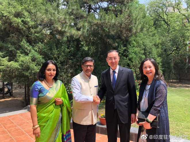 China appoints veteran diplomat Sun Weidong as new envoy to India