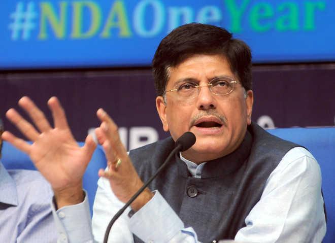 Piyush Goyal appointed Deputy Leader of House in Rajya Sabha