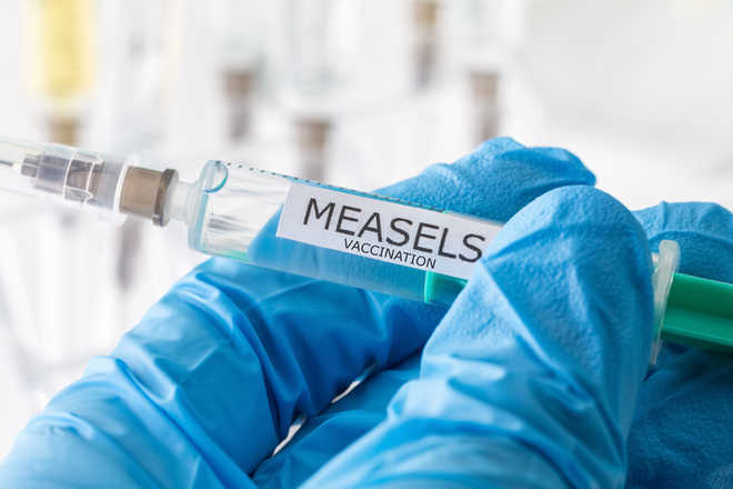 Despite vaccination, one case of 'measles' surfaces in Zirakpur