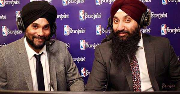 2 Canadian-Indian Sikhs voice NBA finals in Punjabi for first time