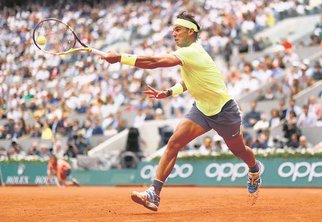 King of the clay court