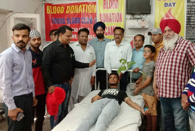 Civil Hospital sees low turnout of blood donors