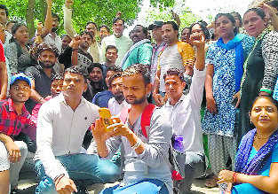Ambedkar varsity reinstates ousted contractual workers
