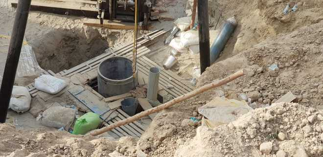 Mansa administration seals 27 borewells