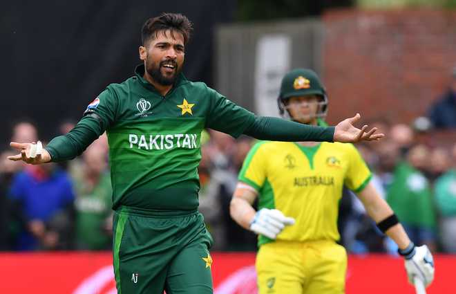 Pakistan's Amir targets India, inspired by memory of late mother