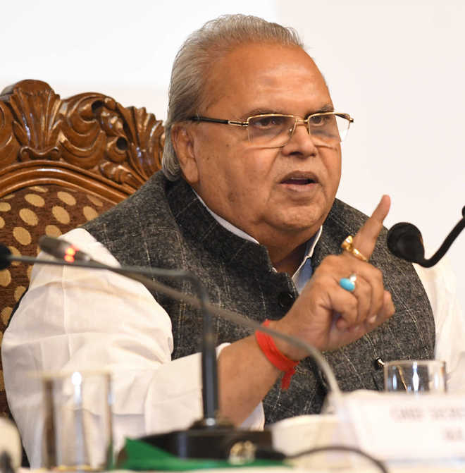 Guv in Delhi to discuss road ahead for J&K