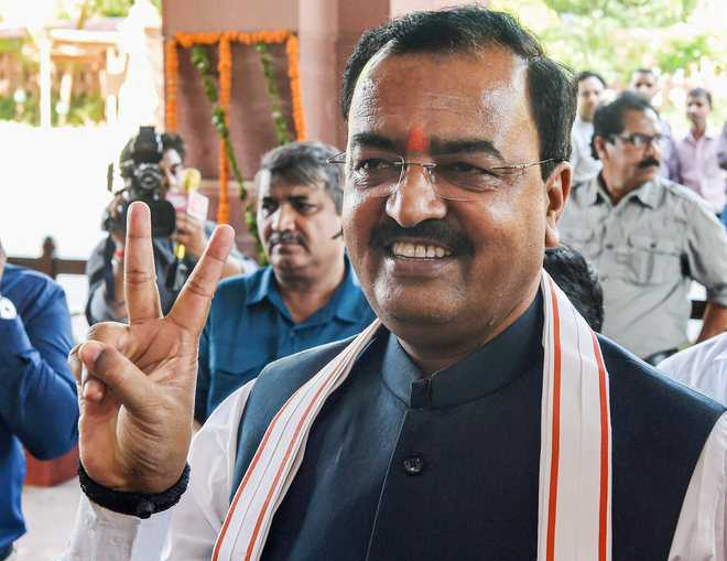 Law on Ram temple if all options fail: Maurya