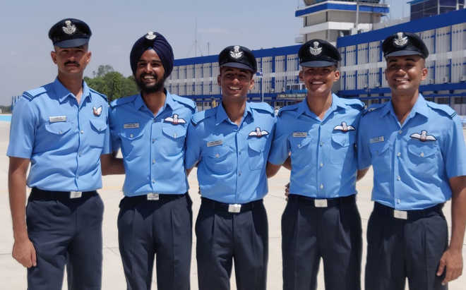 Mohali institute passouts IAF top guns
