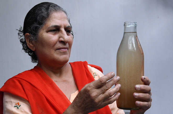 Dirty water flows from taps, furious residents raise din