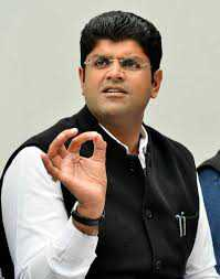 Work hard for 100 days: Dushyant to JJP workers