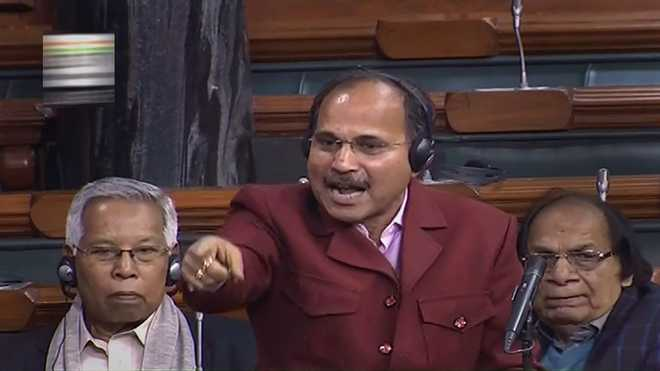 After Rahul refuses, Adhir Ranjan Chowdhury to be leader of Congress in LS