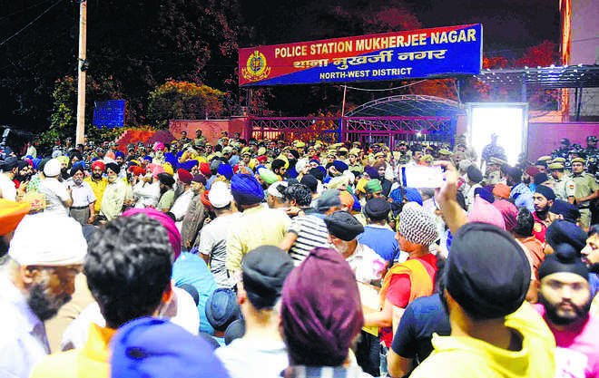 Sirsa roughed up by Sikh protesters