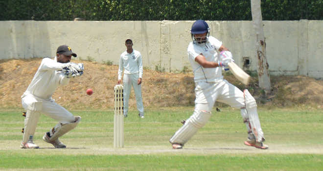 Chitkara's ton goes in vain, match ends in draw