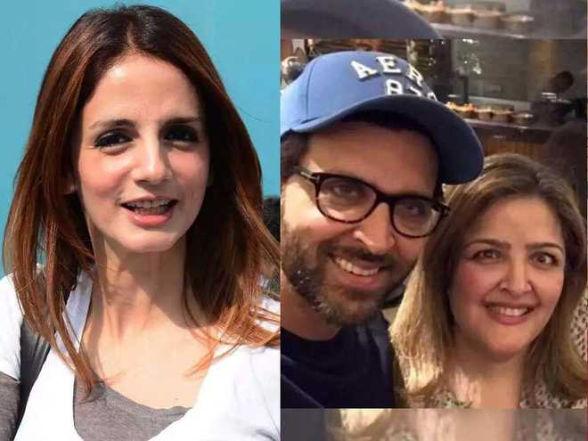 Ex-wife Sussanne defends Hrithik over sister's 'harassment' by Roshans