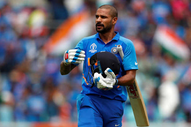 Shikhar Dhawan posts an emotional message after being ruled out of World Cup