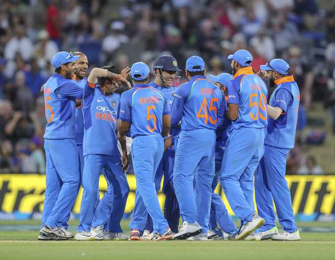 Men in Blue to sport orange in World Cup match against Afghanistan